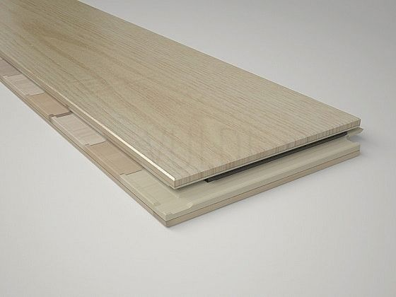 3-Layers Engineered Wood Flooring 24 x 112 x 1240 mm White Oak image from VULDI COMPANY