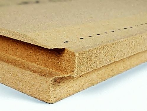 Insulation board made from natural wood fibres BELTERMO ULTRA 160 image from VULDI COMPANY
