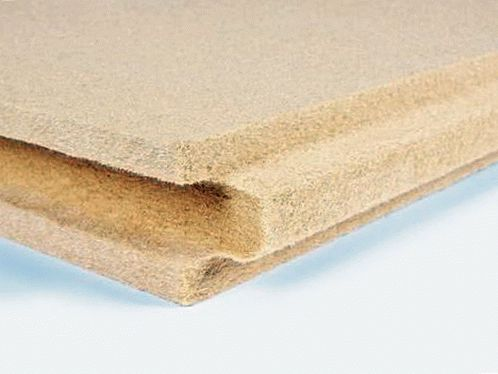 Insulation board made from natural wood fibres BELTERMO MULTI 140 image from VULDI COMPANY