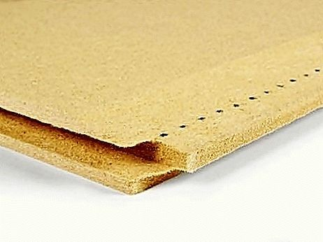 Insulation board made from natural wood fibres BELTERMO TOP 52 image from VULDI COMPANY