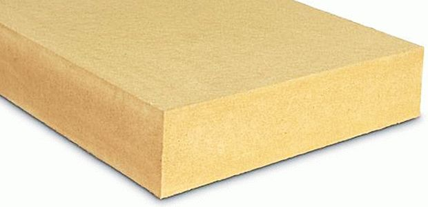Insulation board made from natural wood fibres BELTERMO FLAT 140 image from VULDI COMPANY