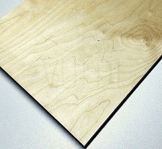 Exterior Birch Plywood 8 mm (1250x2500), Grade CP/C image from VULDI COMPANY